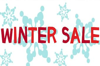 Our Winter Sale is now on